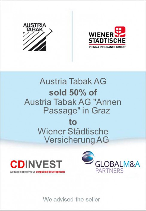 Austria Tabak Unternehmensverkauf