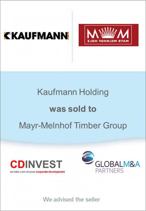 Kaufmann Mayr-Melnhof Unternehmensverkauf