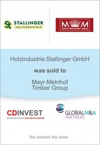 Mayr-Melnhof Holz Unternehmensverkauf