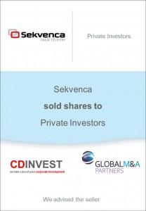 Sekvence Unternehmensverkauf