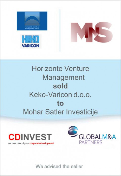 Horizonte Keko-Vericon Unternehmensverkauf