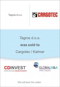 Tagros Cargotec Unternehmensverkauf