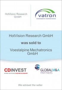 HotVision Voestalpine Unternehmensverkauf