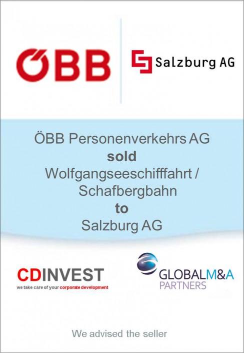 ÖBB Salzburg AG Unternehmensverkauf