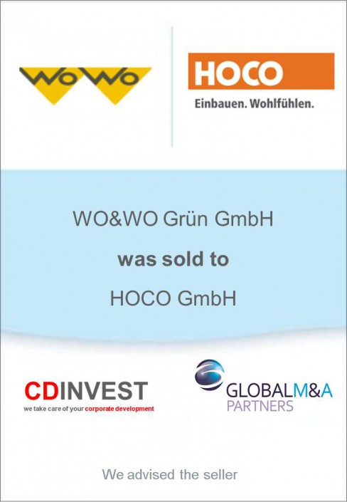 Wo&Wo HOCO Unternehmensverkauf