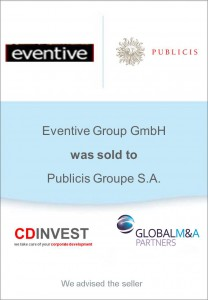 Eventive Publicis Unternehmensverkauf