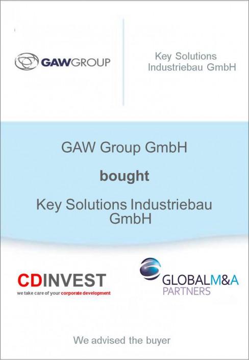 GAW Group Key Solutions Unternehmenskauf