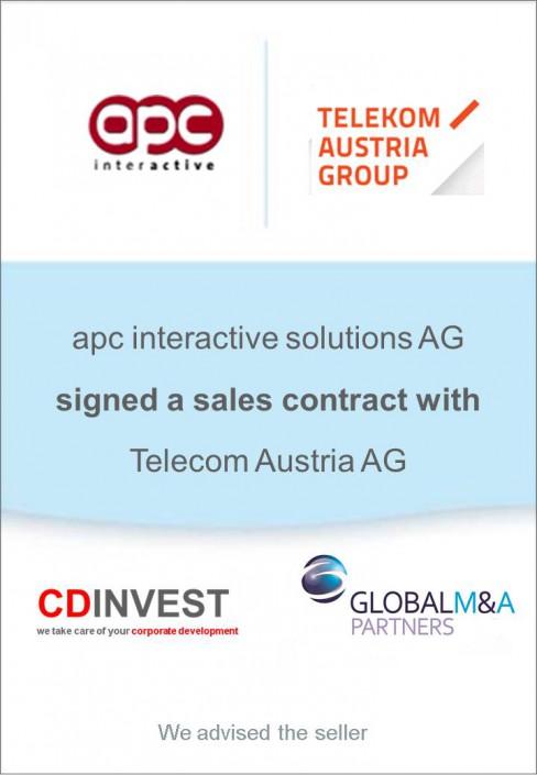 APC Telekom Austria Unternehmensverkauf