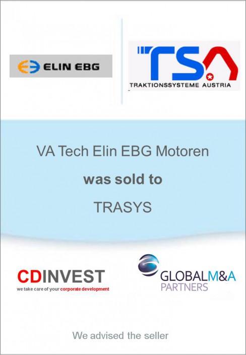 Elin Trasys Unternehmensverkauf