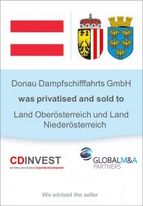 Donau Dampfschifffahrt Privatisierung