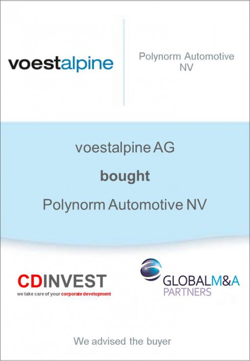 Voestalpine Polynorm Akquisition