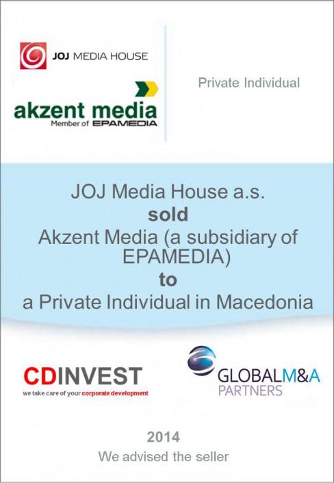 JOJ Akzent Media Unternehmensverkauf