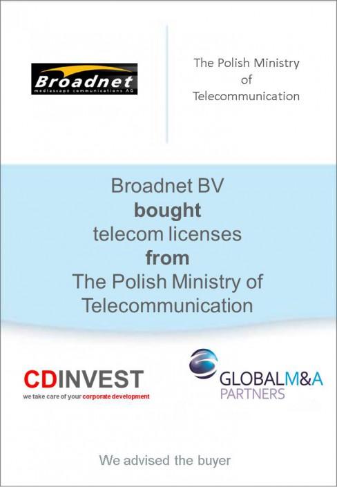 Broadnet Unternehmenskauf