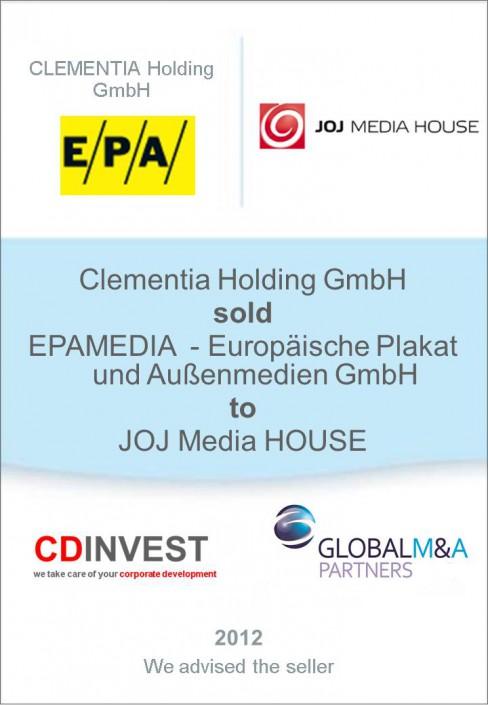EPAMEDIA JOJ Unternehmensverkauf
