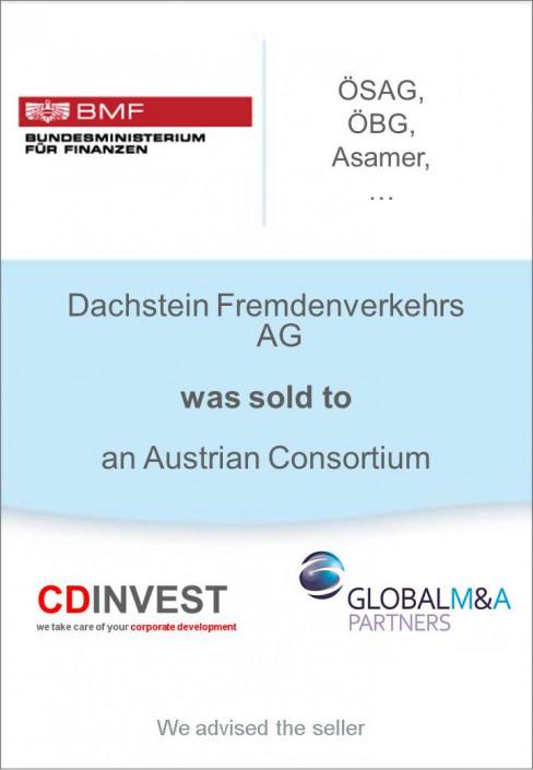 Dachstein Fremdenverkehr Unternehmensverkauf