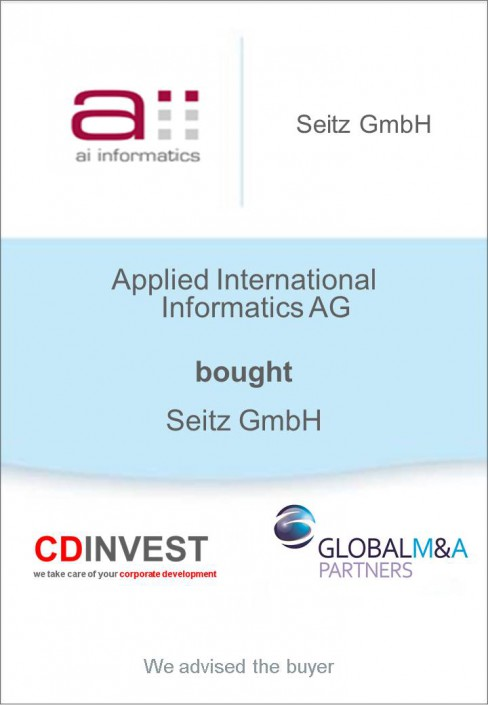 Applied International Informatics Unternehmenskauf