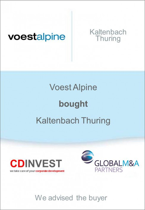 Voestalpine Akquisition