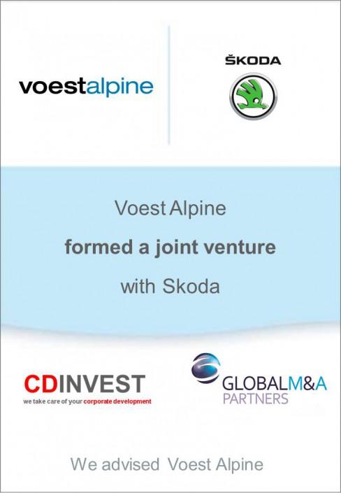 Voestalpine Skoda Joint Venture